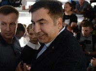 Саакашвили через границу Украины внесла толпа