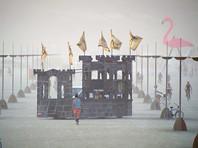 Burning Man - ежегодный фестиваль, который открывается в последний понедельник августа в пустыне Блэк-Рок, штат Невада. Его участники демонстрируют предметы современного искусства