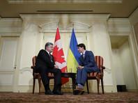 """Переговоры Порошенко и Трюдо: крест на """"российском сценарии"""" и летальное вооружение из Канады"""