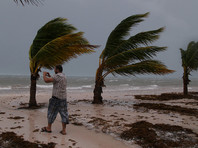 """""""Мария"""" затронула лишь восточное и северное побережье Доминиканы, вызвав сильные ливни со штормовым ветром"""