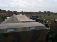 На Украине после взрывов начался пожар на крупнейшем военном складе - в арсенале в Калиновке Винницкой области