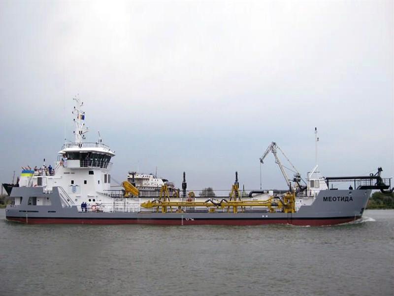 Украина занялась углублением Азовского моря