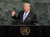 """Президент США Дональд Трамп, который впервые принимает участие в заседании ООН в качестве главы американского государства, заявил о готовности Вашингтона """"полностью уничтожить"""" КНДР, если Пхеньян не прекратит свою ядерную программу и ракетные запуски"""