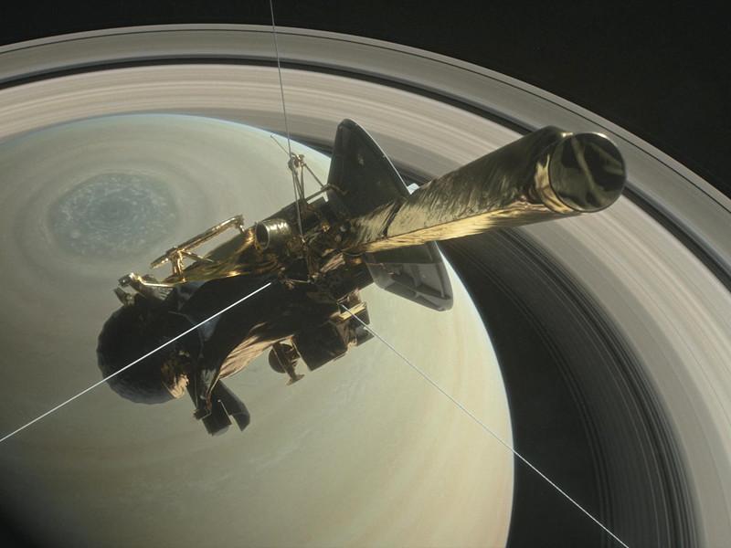 Зонд Cassini провел свой последний репортаж из атмосферы Сатурна