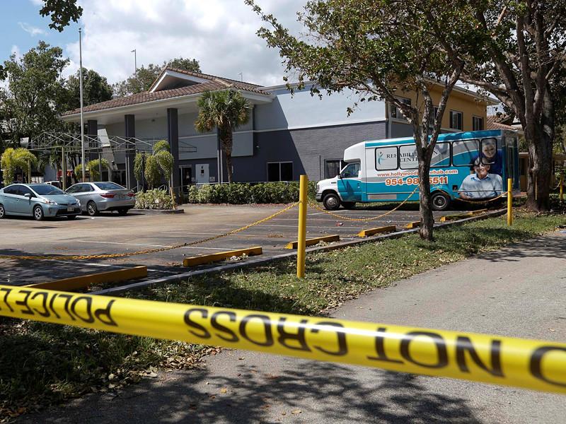 """В американском штате Флорида шестеро человек погибли в доме престарелых в результате урагана """"Ирма"""". Трагедия произошла в городе Голливуд"""