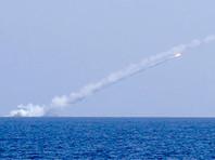 """Российские подводные лодки """"Великий Новгород"""" и """"Колпино"""" из подводного положения из восточной части Средиземного моря нанесли удар крылатыми ракетами """"Калибр"""" по объектам """"Исламского государства""""* в Сирии"""