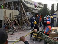 Под развалинами школы в Мехико нашли живую девочку