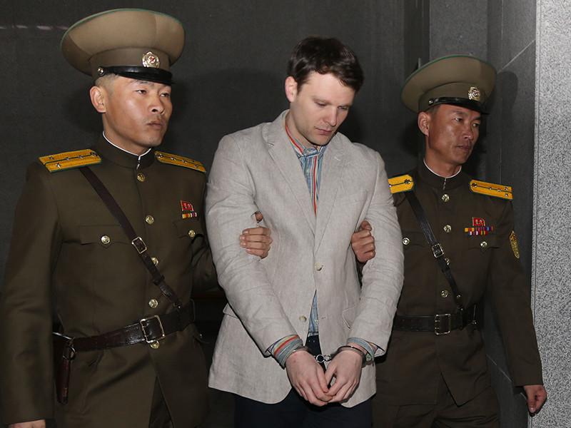 КНДР обвинила США в использовании смерти американского студента для антисеверокорейской пропаганды