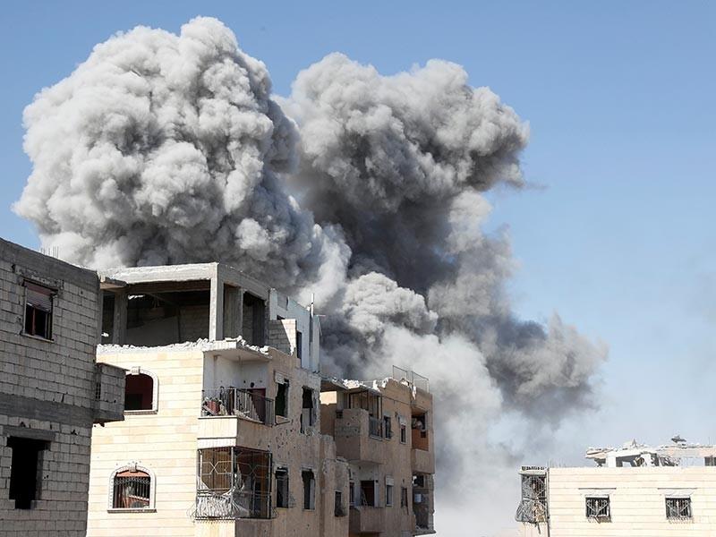 В Сирии на мине подорвался генерал правительственной армии, отвечавший за оборону Дейр-эз-Зора