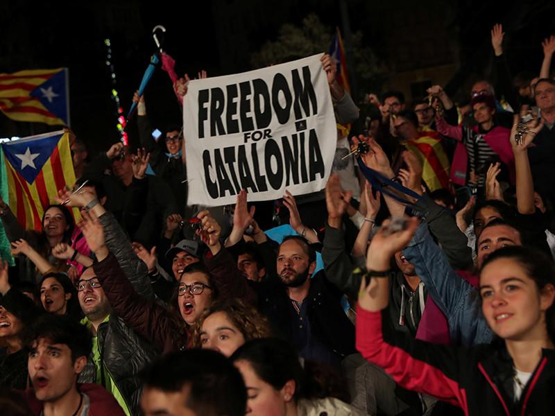 За независимость от Испании высказались 90 процентов жителей Каталонии