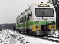 В Финляндии поезд столкнулся с бронетраспортером Оборонительных сил в городе Раасепори (Расеборге) на железнодорожном переезде на улице Лексваллинтие