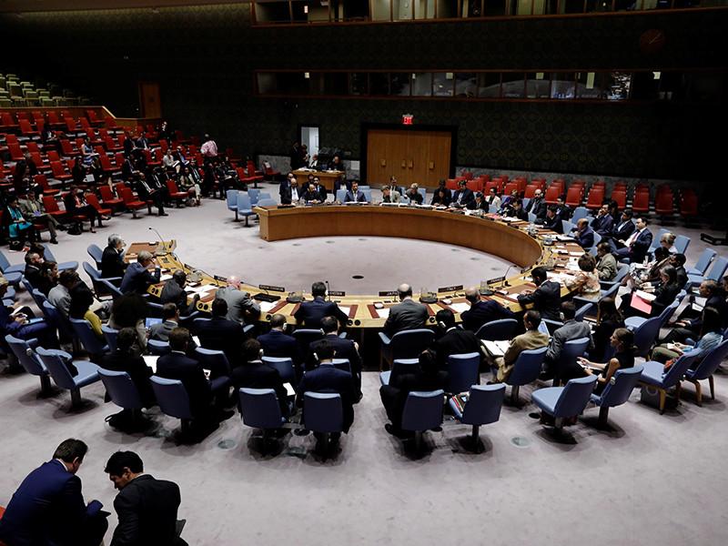 Россия блокировала резолюцию в СБ ООН о продолжении расследования химатаки в Сирии