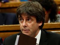 Президент Каталонии попросил парламент отсрочить объявление независимости