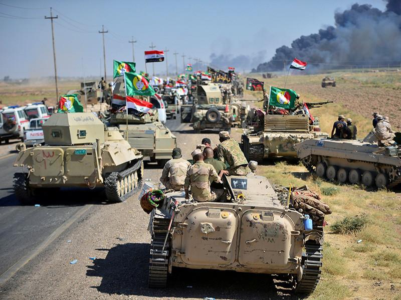 Иракские правительственные силы освободили город Хавиджа