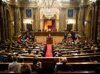 В парламентКаталониивнесено предложение о создании независимой от Испании республики