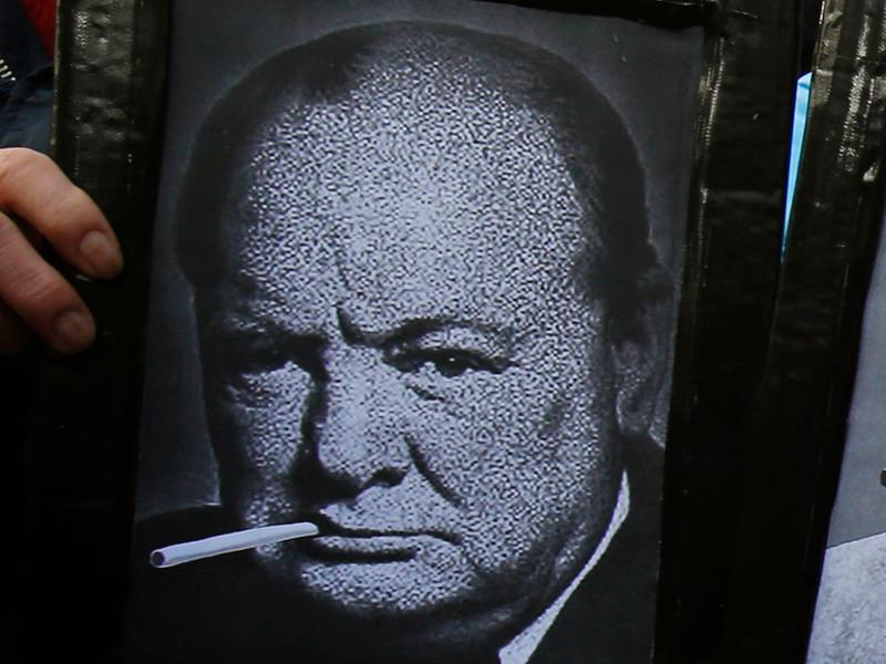 Окурок изо рта Уинстона Черчилля продали на аукционе