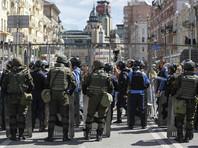 Украинские власти перекрыли центр Киева за несколько часов до митинга Саакашвили