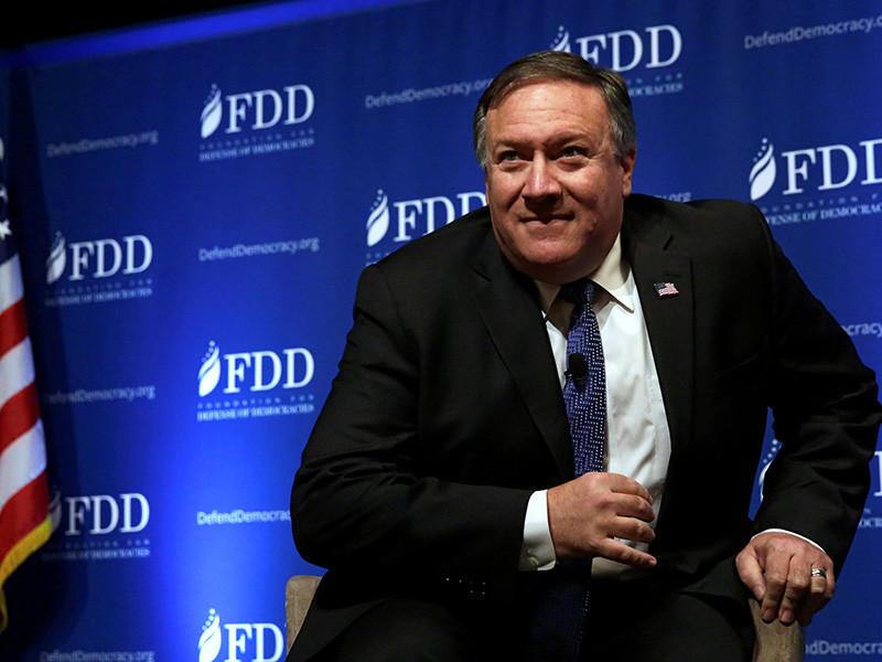 Директор ЦРУ Майк Помпео сказал, что Соединенные Штаты должны действовать так, как если бы КНДР оказалась на грани возможного ракетного удара по ним и поступала соответствующе