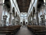 Во Флоренции испанского туриста убило в церкви подвесной капителью