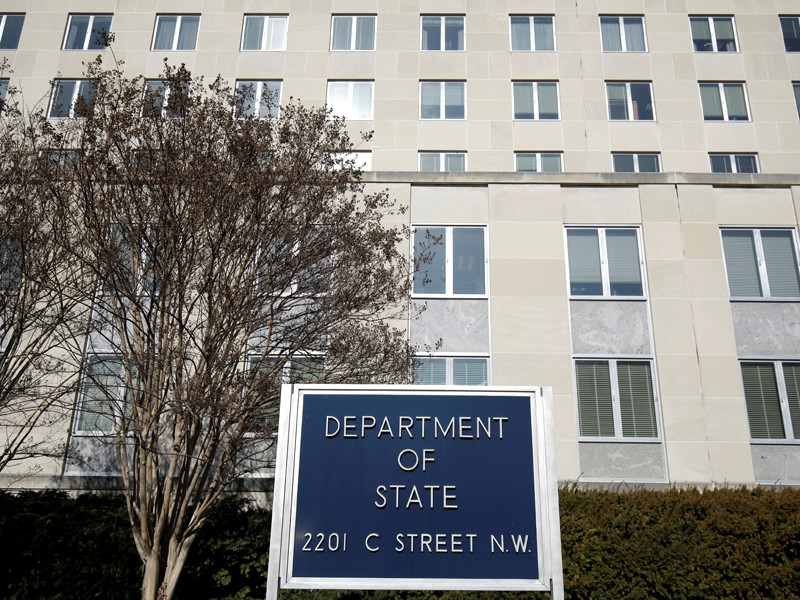 Представитель Госдепартамента США Хизер Науэрт ответила на обвинения со стороны Конгресса в срыве дедлайна по формированию санкционного списка россиян, связанных с обороной и разведкой