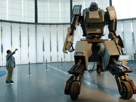 Битву гигантских роботов показывают онлайн