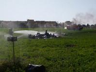 В Испании разбился истребитель, возвращавшийся с военного парада