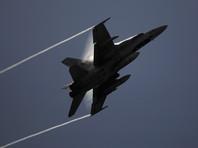 Самолет F-18 ВВС Испании потерпел крушение на окраине столицы страны Мадрида, летчик погиб