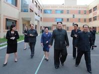 Ким Чен Ын посетил фабрику косметики, прихватив с собой жену и продвинувшуюся по службе сестру
