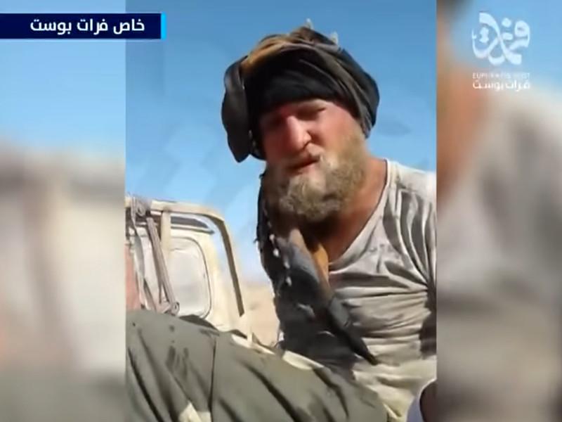 """""""Я русский, у меня есть информация об оружии"""": опубликовано видео допроса захваченного ИГ* казака"""