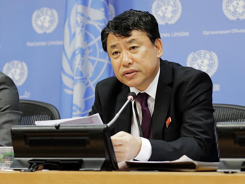 Ситуация на Корейском полуострове достигла пика напряженности из-за провокационных действий Соединенных Штатов, что может привести к началу ядерной войны. Об этом говорится в заявлении заместителя постоянного представителя КНДР при ООН Ким Ин Рёна