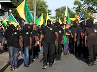 Во Французской Гвиане на фоне визита Макрона произошли столкновения манифестантов с полицией