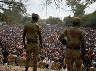 В центральной части Эфиопии массово задерживают участников недавних беспорядков