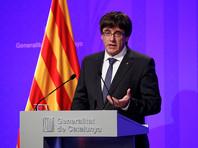 """Глава Каталонии намерен объявить о независимости """"в ближайшие дни"""""""