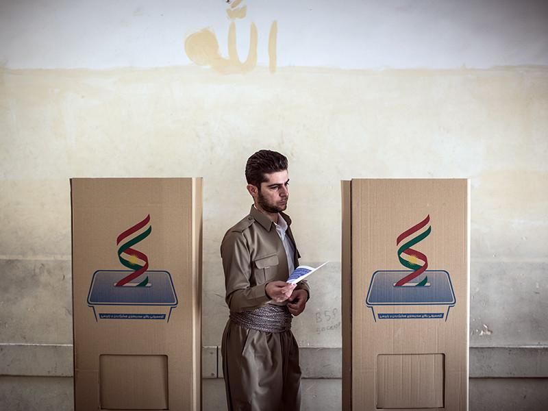 Иракские курды объявили о готовности к диалогу с Багдадом