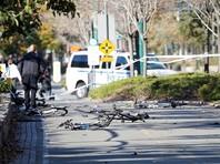 У памятника жертвам 11 сентября в Нью-Йорке произошел теракт: пикап давил людей на велодорожке, затем водитель начал стрелять