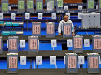 Коалиция нынешнего премьера Японии уверенно побеждает на выборах