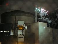 Французские активисты Greenpeace проникли на территорию АЭС и запустили фейерверк (ФОТО, ВИДЕО)