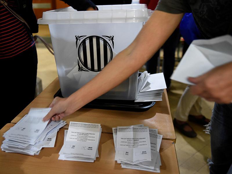 Мадрид отказался считать завершившееся голосование о независимости Каталонии референдумом