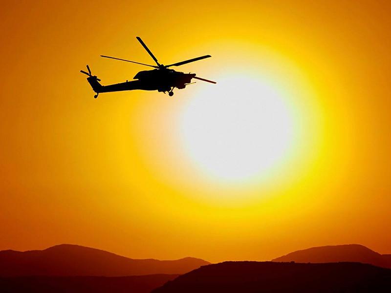 Ми-28 совершил в сирийской провинции Хама вынужденную посадку из-за неисправности, заявили в Минобороны РФ