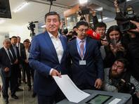 На выборах президента в Киргизии лидирует провластный кандидат