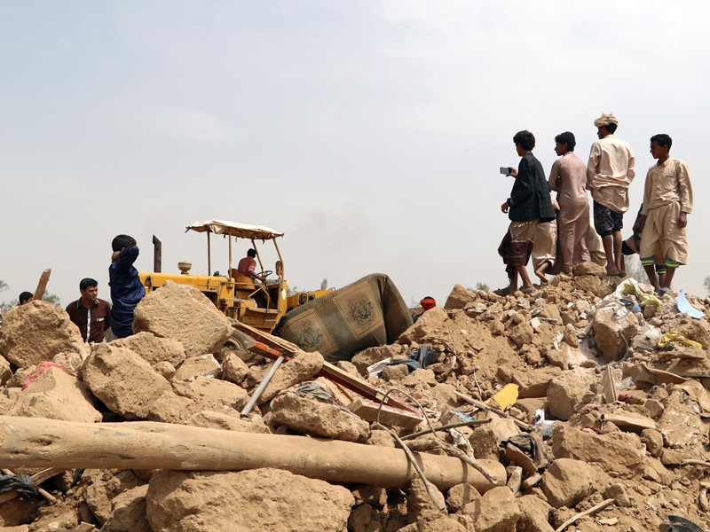 Йемен, август 2017 года