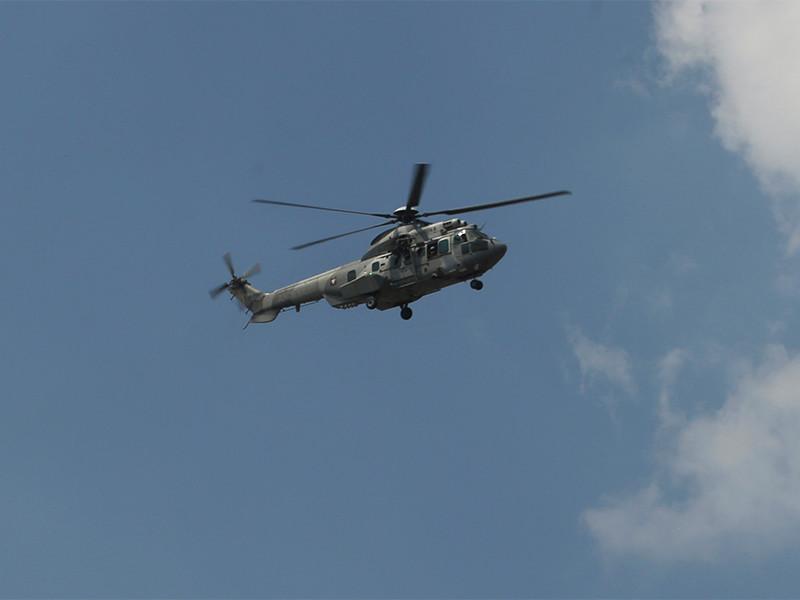 Семь человек погибли в результате крушения военного вертолета в Мексике