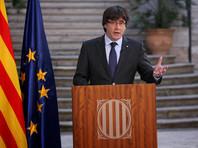 Пучдемон остается президентом Каталонии, объявили власти региона