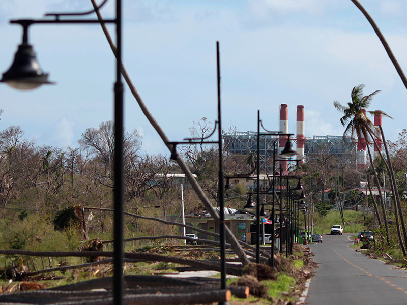 """Число жертв урагана """"Мария"""" в Пуэрто-Рико возросло до 34"""