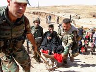 Полиция эвакуировала из охваченного боевыми действиями города несколько десятков семей, которые боевики пытались использовать в качестве живого щита
