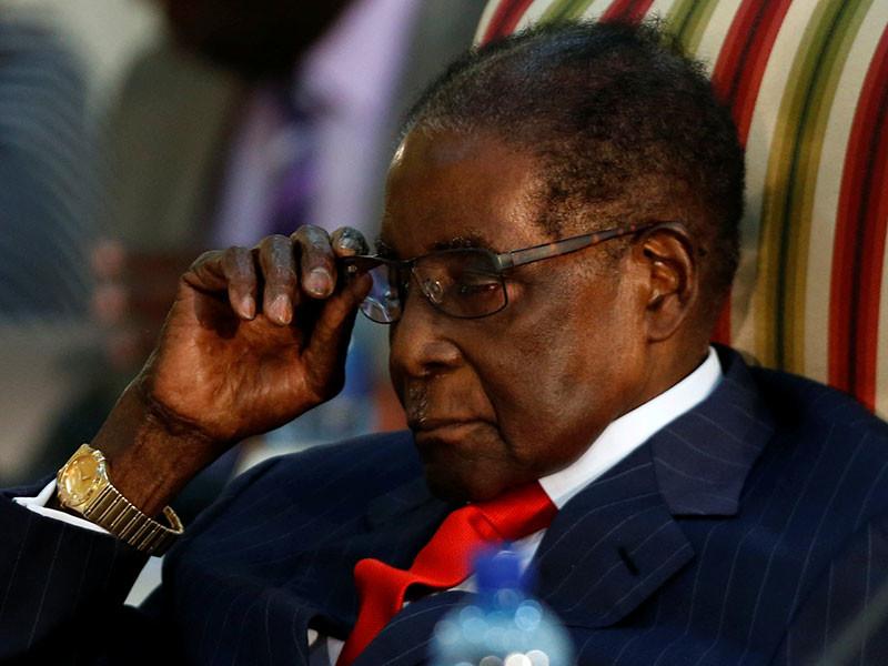 ВОЗ лишила Мугабе звания посла доброй воли