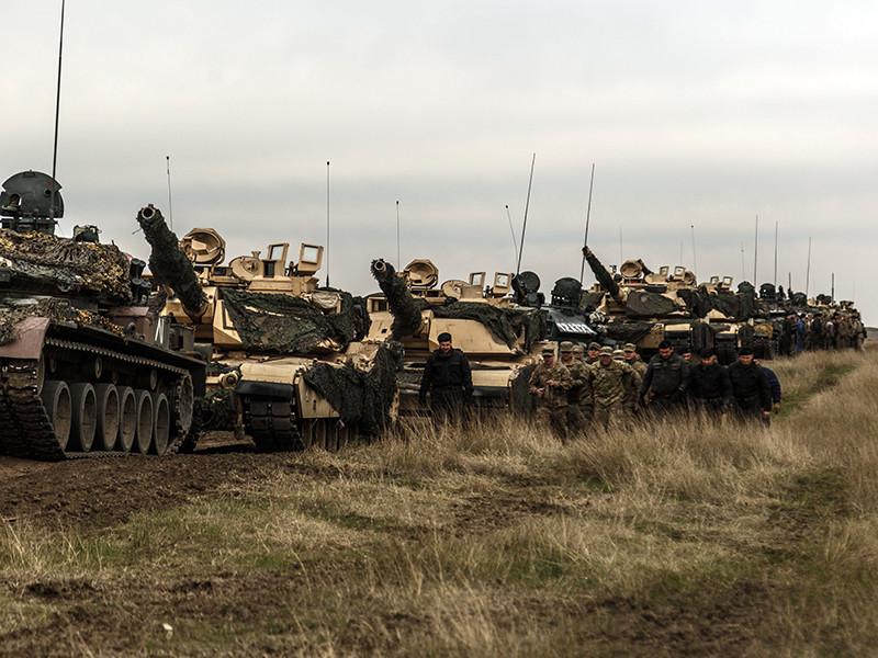Польские грибники встали на пути американских танков в ходе учений  Atlantic Resolve