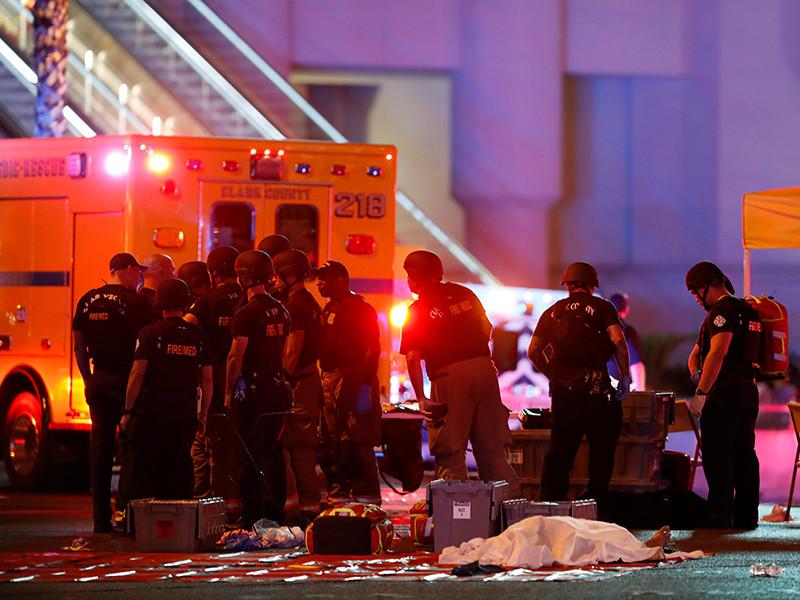 """Сотрудники правоохранительных органов в США опровергли информацию о причастности """"стрелка из Лас-Вегаса"""", устроившего самую кровавую бойню в истории страны, к террористическим группировкам"""