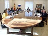 Власти Испании распустили правительство и парламент Каталонии