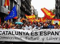 Среди каталонцев нет полной договоренности о том, что делать дальше: часть из них выступает с умеренных позиций и предлагает отложить окончательное провозглашение независимости, чтобы сохранить возможность для урегулирования ситуации в ходе переговоров с испанскими властями